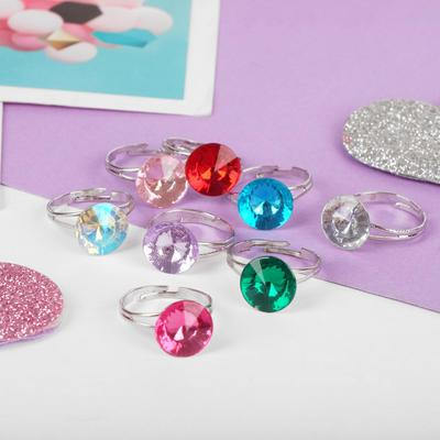 """Ring baby """"Vibracula"""" radiance, dimensionless, MIX color"""