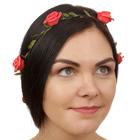 """Декор для волос, вплетаемый """"Розы"""""""