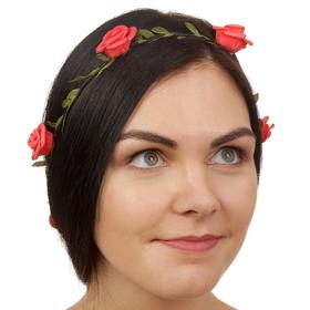 Декор для волос, вплетаемый «Розы» Ош