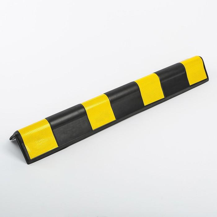 Мат парковочный угловой 800x100x8 мм, вспененный полиэтилен