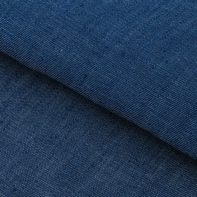 Ткань для пэчворка мягкая джинса синяя, 47 х 50 см