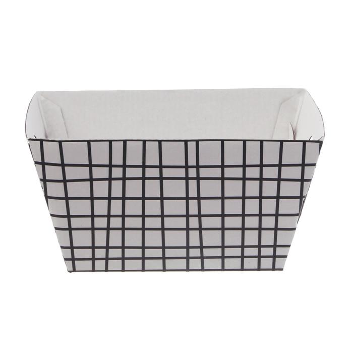 Складная коробка–трапеция «Геометрия», 19.5 × 15 × 10.5 см