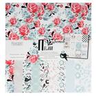 """Набор бумаги для скрапбукинга (11 листов) """"Песни цветов"""" 30,5х30,5 см"""