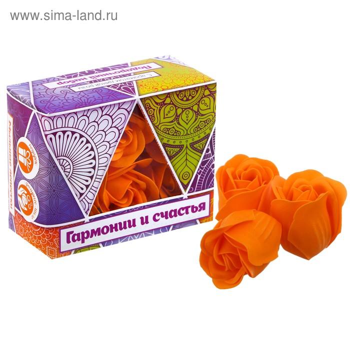 """Мыльные лепестки в коробке """"Гармонии и счасть"""", 6 шт."""