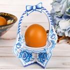 """Подставка пасхальная на 1 яйцо """"Корзинка"""""""