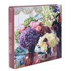 """Фотоальбом на 200 фото 10х15 см """"Цветочный магазин"""" листы с бумажной основой 28х25,5х5 см"""