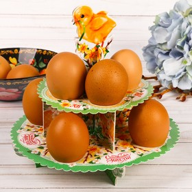 Пасхальная Подставка для яиц «Цыпленок», 19 х 18,5 см