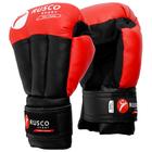 Перчатки для Рукопашного боя RUSCO SPORT 12 Oz цвет красный