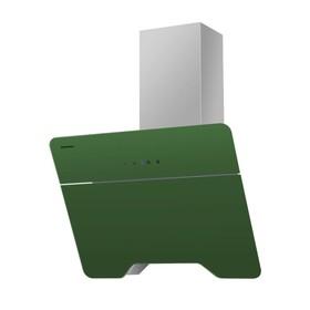 Вытяжка Maunfeld TWEED 60, наклонная, 850 м3/ч, 3 скорости, 60 см, зелёная