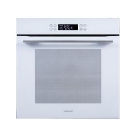 """Духовой шкаф Graude BM 60.2 W, электрический, 67 л, цвет """"белое стекло"""""""