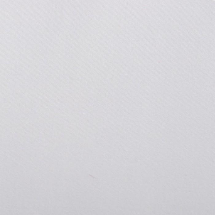 Ткань отбеленная Сатин ш. 220 см, пл. 135 г/м², хлопок 100%