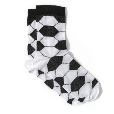 Носки мужские, цвет чёрно-белый, размер 25