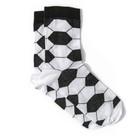 Носки мужские, цвет чёрно-белый, размер 29