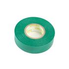 Изолента ФАZА, ПВХ, 19 мм х 20 м, 150 мкм, зеленая
