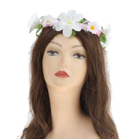 Гавайский светящийся венок «Невеста»