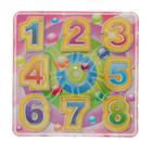 "Maze puzzle ""Numbers"", MIX colors"