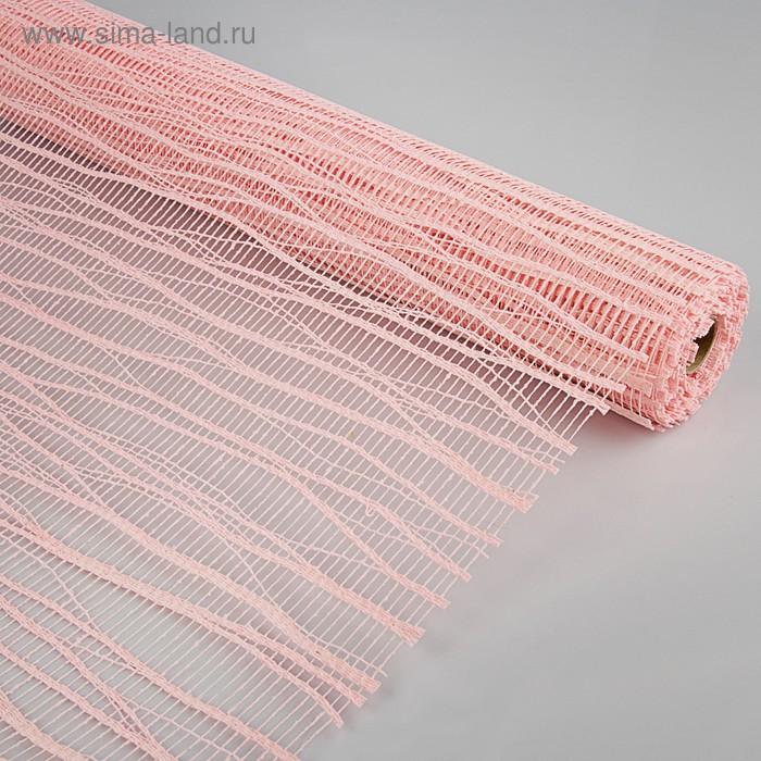 Сетка «Мистраль», BOZA, светло-розовый, 0,53 x 4,57 м