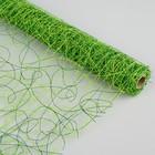 Сетка сизаль двухцветная, BOZA, зелёный, 0,53 x 4,57 м
