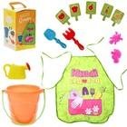Игровой набор «Я - садовод» с фартуком и аксессуарами