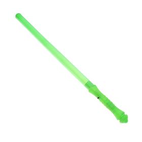 Палочка световая «Голография», цвет зелёный