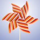Ветерок «Полосатик», цвет оранжевый