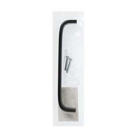 Ручка скоба РС108, м/о 128 мм, черная - фото 7411105