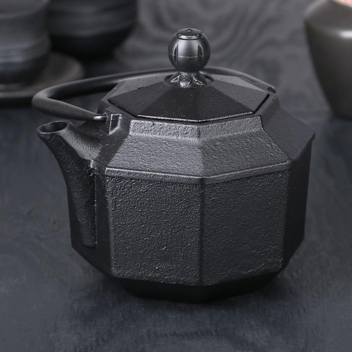 Чайник с ситом 800 мл «Aманжол», эмалированное покрытие