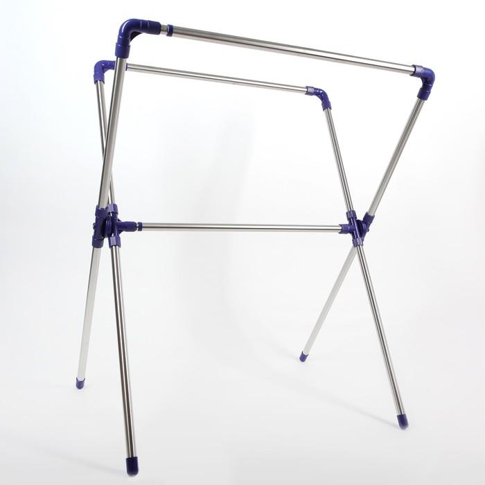 Стойка для одежды телескопическая усиленная 178x69x127 см