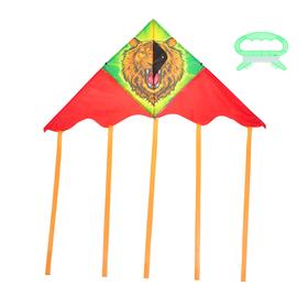 Воздушный змей «Лев», с леской