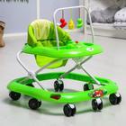 Ходунки «Маленький водитель», звуковые эффекты, цвет зелёный