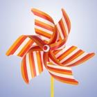 "Breeze ""Pinstripes"", the color orange"