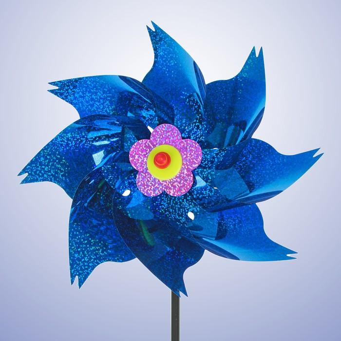 """Ветерок """"Голография"""", цвет синий"""