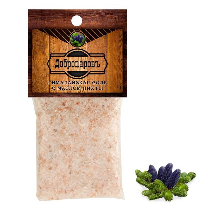 """Гималайская соль """"Добропаровъ"""" с маслом пихты, красная, 2-5 мм, 100 гр"""