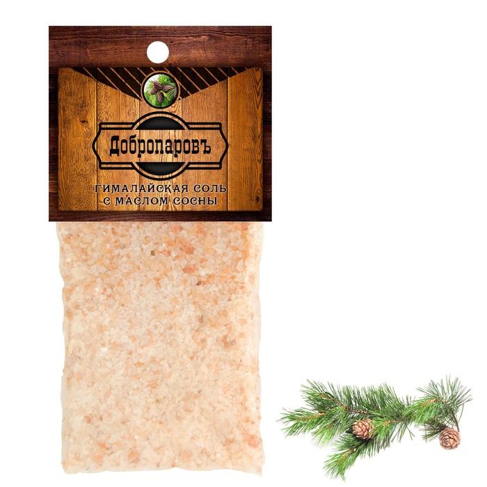 """Гималайская красная соль """"Добропаровъ"""" с маслом сосны, 2–5 мм, 100 г"""