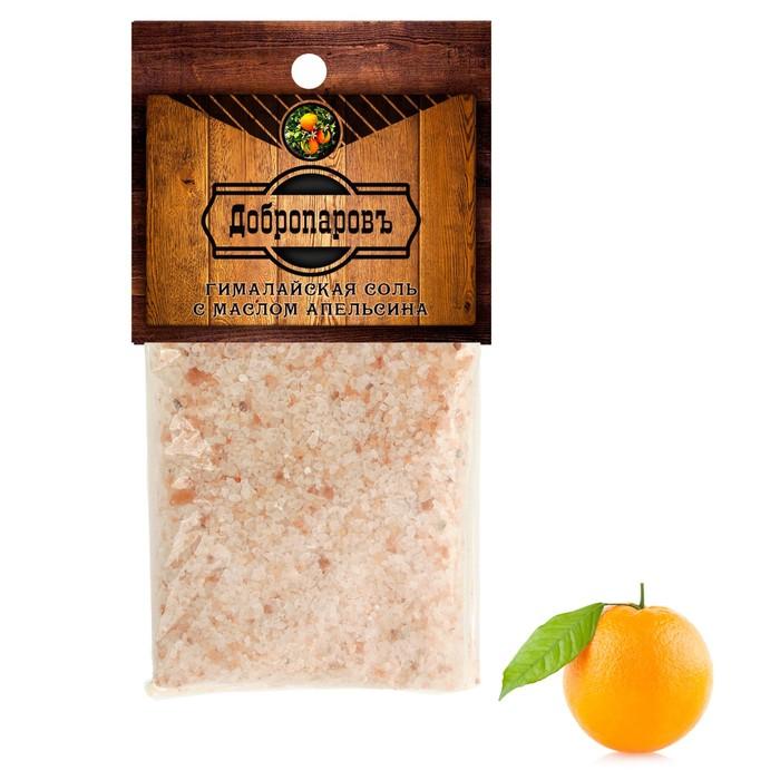 """Гималайская соль """"Добропаровъ"""" с маслом апельсина, красная, 2-5 мм, 100 гр"""