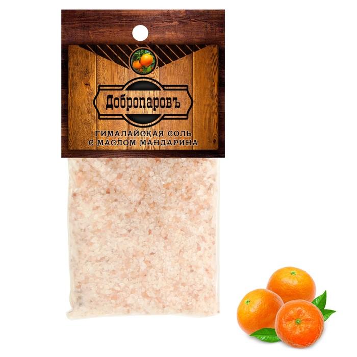 """Гималайская соль """"Добропаровъ"""" с маслом мандарина, красная, 2-5 мм, 100 гр"""