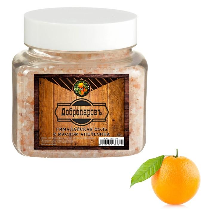 """Гималайская соль """"Добропаровъ"""" с маслом апельсина, красная, 2-5 мм, 300 гр"""