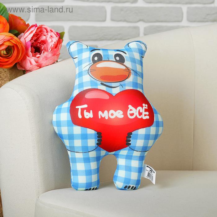 "Мягкая игрушка-антистресс ""Медведь Стёпа"" 02"
