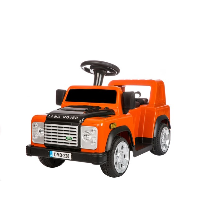 "Электромобиль ""LAND ROVER DEFENDER"", цвет оранжевый"