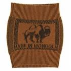 Пояс трубчатый «Верблюд» из шерстяной пряжи, коричневый
