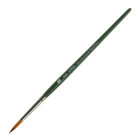 Кисть синтетика круглая Bruno Visconti № 3, короткая ручка универсальная