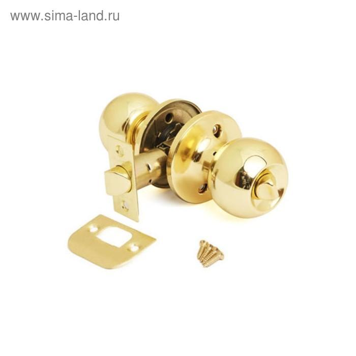 Ручка-защёлка AVERS 6072-03-G, с фиксатором, цвет золото