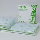 Одеяло обл. 140*205, ОБ/015эк, бамбуковое волокно, ткань глосс-сатин,п/э - фото 105555201