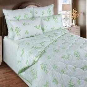 Одеяло станд. 140х205 см, бамбуковое волокно, ткань глосс-сатин, п/э 100%