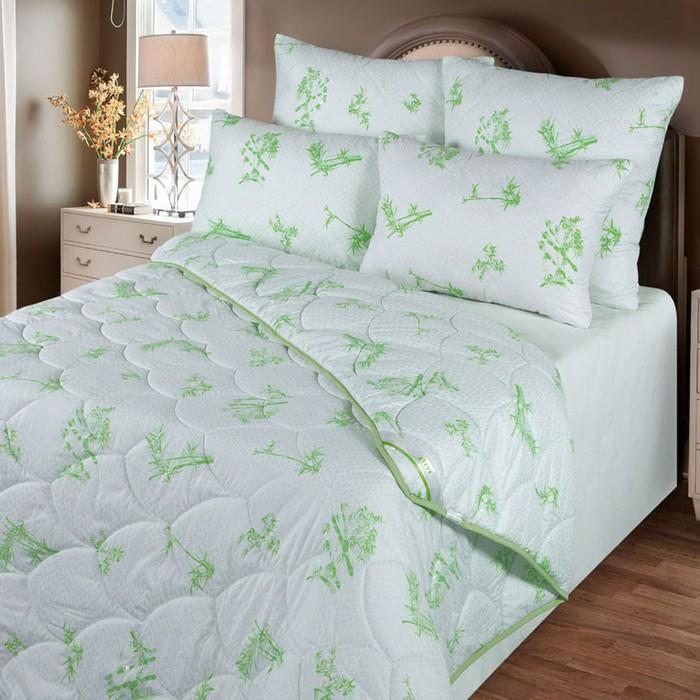 Одеяло зимнее 140*205, ОБ/15эк, бамбуковое волокно, ткань глосс-сатин,п/э - фото 61675