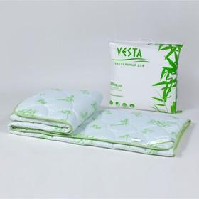Одеяло зимнее 140*205, ОБ/15эк, бамбуковое волокно, ткань глосс-сатин,п/э - фото 61676