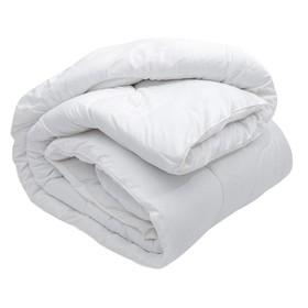 Одеяло зимнее 140х205 см, иск. лебяжий пух, ткань глосс-сатин, п/э 100% - фото 61736