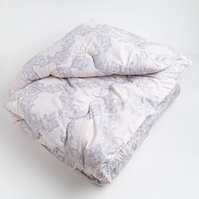 Одеяло зимнее 140*205,ОМТ-15, шерсть овечья,ткань тик, п/э