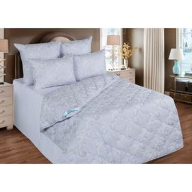 Одеяло зимнее 140*205,ОЛТ-15, иск. лебяжий пух,ткань тик, п/э