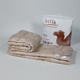 Одеяло обл. 172*205, ОВШ/017эк, шерсть верблюда, ткань глосс-сатин,п/э - фото 61719